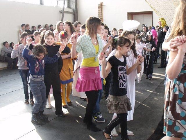 Iskolai farsang 2012