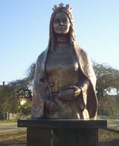 Szent Erzsébet szobor