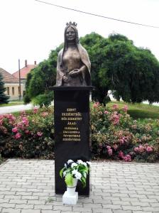 Erzsébet szobor
